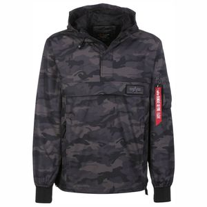 Alpha Industries LW Anorak Herrenjacke black camo 196135/125 – Bild 1