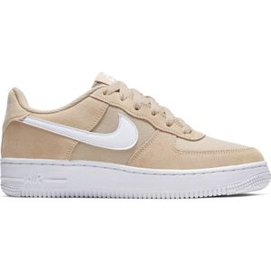 Nike Air Force 1 PE GS Sneaker Low Top beige weiß BV0064 200 – Bild 1