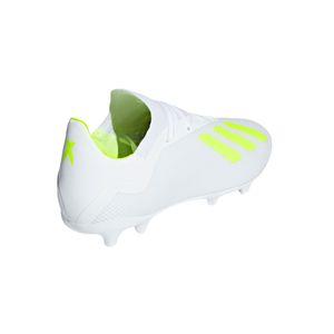adidas X 18.3 FG  Herren Fußballschuhe Nockenschuhe weiß gelb BB9368 – Bild 4