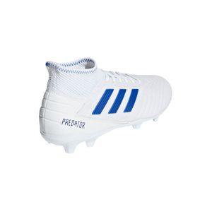 adidas Predator 19.3 FG Herren Fußballschuhe weiß blau BB9333 – Bild 3