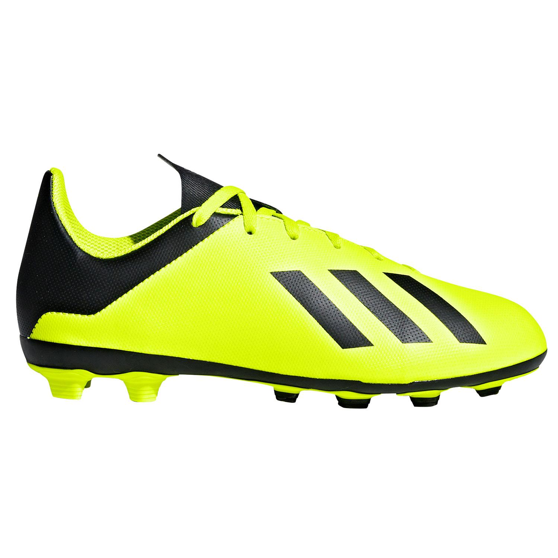 Adidas X 18 4 Fxg J Kinder Fussballschuhe Db2420 Gelb Schwarz