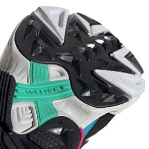 adidas Originals Falcon W Damen Sneaker gelb schwarz weiß blau CG6210 – Bild 8