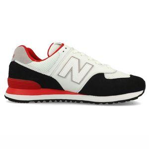 New Balance ML574NSB Herren Sneaker weiß schwarz rot 723871-60 4 – Bild 1
