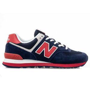 New Balance ML574MUA Herren Sneaker blau rot 722221-60 10 – Bild 1