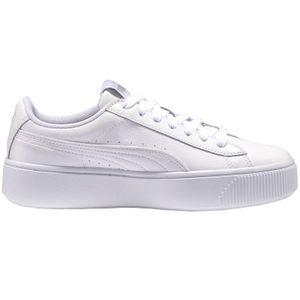 Puma Vikky Stacked L Damen Sneaker weiß 369143 02