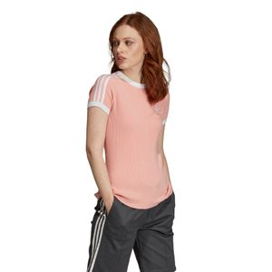 adidas Originals 3-Stripes Tee Damen trace pink DX3765 – Bild 2