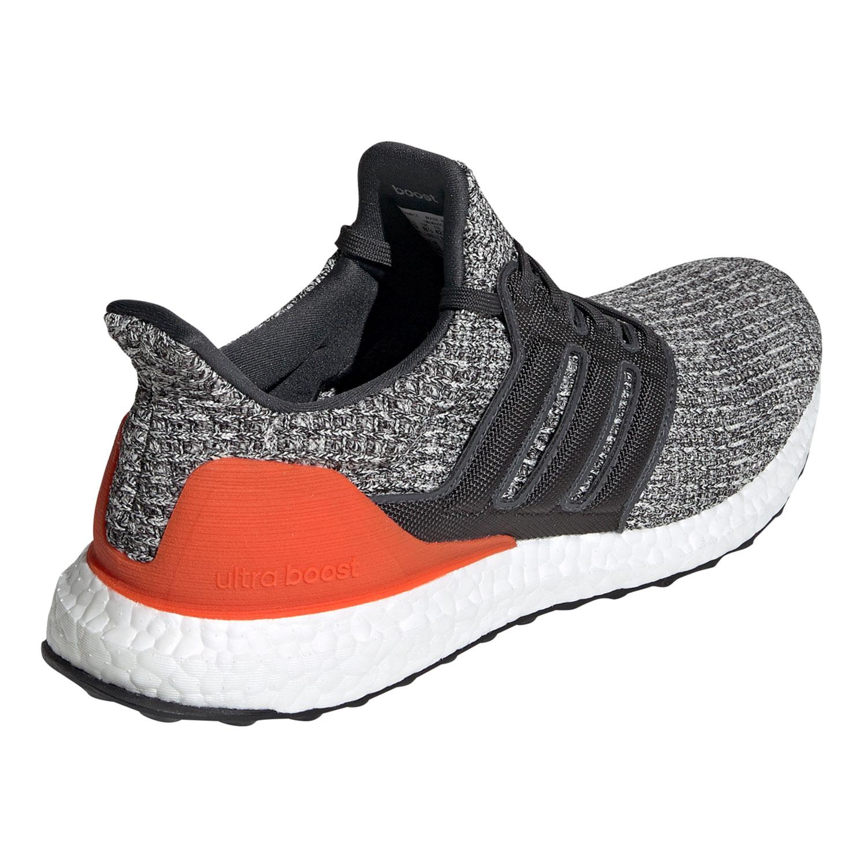 adidas Ultra Boost Herren Running Sneaker grau orange weiß DB2834