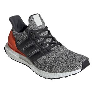 adidas Ultra Boost Herren Running Sneaker grau orange weiß DB2834 – Bild 3