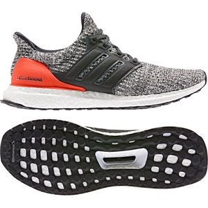 adidas Ultra Boost Herren Running Sneaker grau orange weiß DB2834 – Bild 5