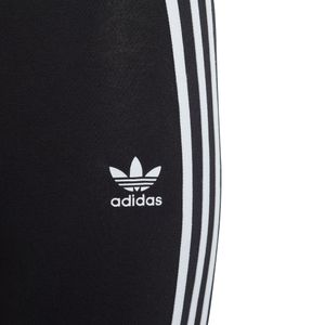 adidas Originals 3-Stripes Leggings Kinder schwarz weiß DV2874 – Bild 3