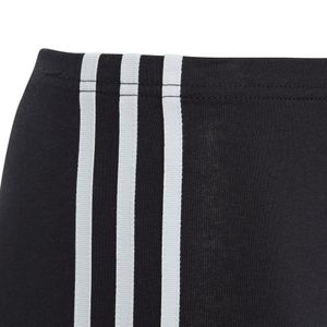 adidas Originals 3-Stripes Leggings Kinder schwarz weiß DV2874 – Bild 4