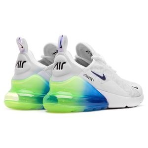 Nike Air Max 270 SE Herren Sneaker weiß blau grün AQ9164 100 – Bild 3