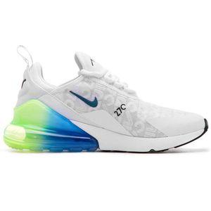 Nike Air Max 270 SE Herren Sneaker weiß blau grün AQ9164 100 – Bild 1