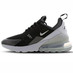 Nike Air Max 270 Y2K Kinder Sneaker black metallic silver BQ9240 001 – Bild 2
