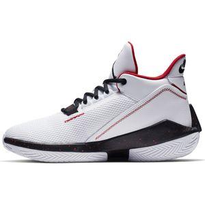 Jordan 2X3 Basketball High-Top Sneaker Herren weiß schwarz rot – Bild 2
