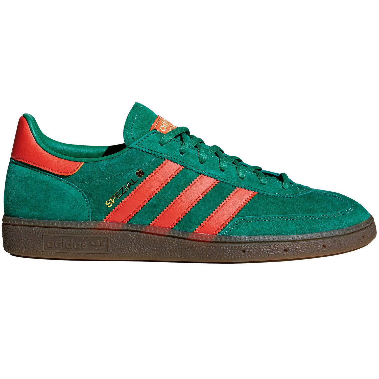 adidas Originals Handball Spezial Herren Sneaker grün orange BD7620