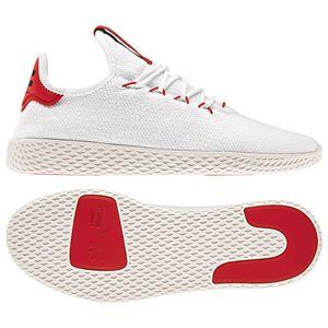 adidas Originals PW Tennis HU Sneaker weiß rot BD7530 – Bild 2