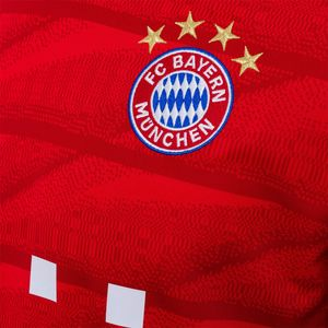 adidas FC Bayern München Home Jersey Trikot rot 19/20 Herren DW7410 – Bild 3