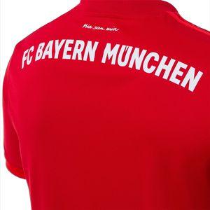 adidas FC Bayern München Home Jersey Trikot rot 19/20 Herren DW7410 – Bild 6