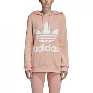 adidas Originals Trefoil Hoodie Damen dusk pink DV2560 – Bild 1