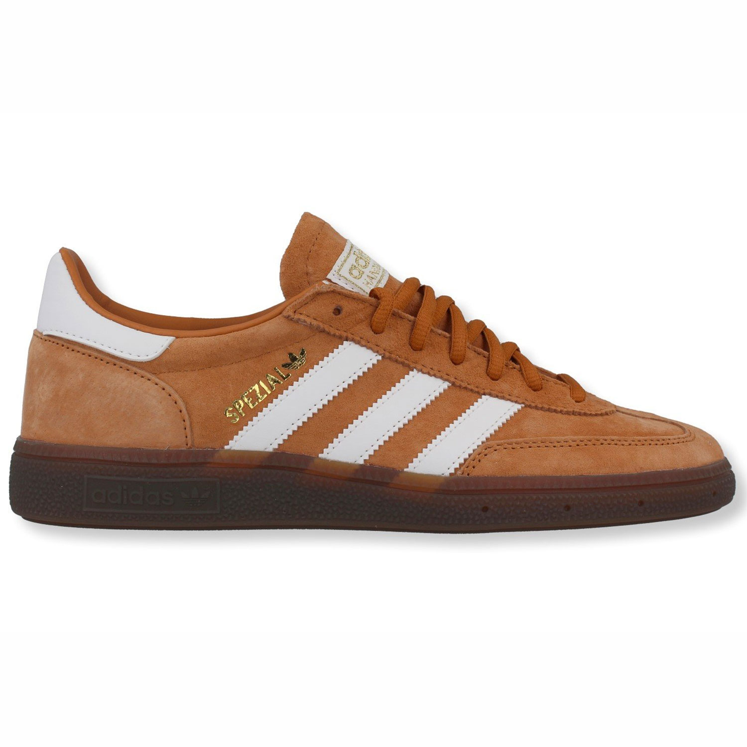 lower price with large discount lower price with Details zu adidas Originals Handball Spezial Herren Sneaker braun weiß  EE5730