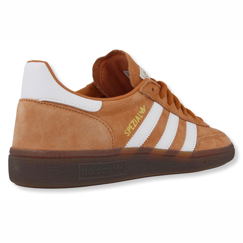 size 40 0e62e ba5ae adidas Originals Handball Spezial Herren Sneaker braun weiß EE5730