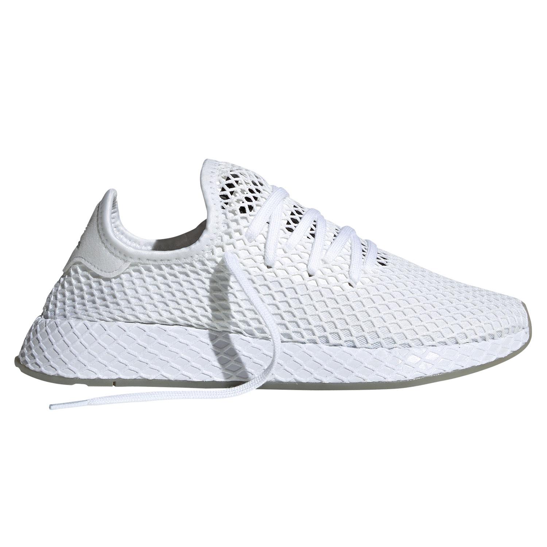 temperament shoes factory authentic hot sales adidas Originals Deerupt Runner Herren Sneaker weiß schwarz EE5673
