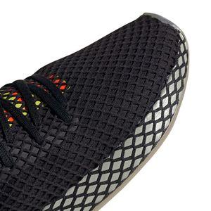 adidas Deerupt Runner Herren Sneaker schwarz bunt – Bild 4