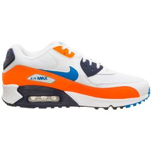 Nike Air Max 90 Essential Sneaker low weiß orange blau – Bild 1
