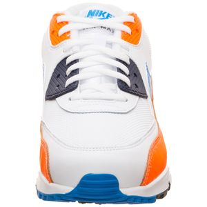 Nike Air Max 90 Essential Herren Sneaker weiß orange blau AJ1285 104 – Bild 4