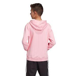 adidas Originals Junior Trefoil Hoodie Kinder pink weiß DV2877 – Bild 4