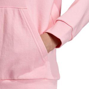 adidas Originals Junior Trefoil Hoodie Kinder pink weiß DV2877 – Bild 9