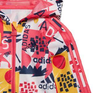 adidas Infant Shiny FZ Hoodie Kleinkind Sportanzug mehrfarbig ED1140 – Bild 8