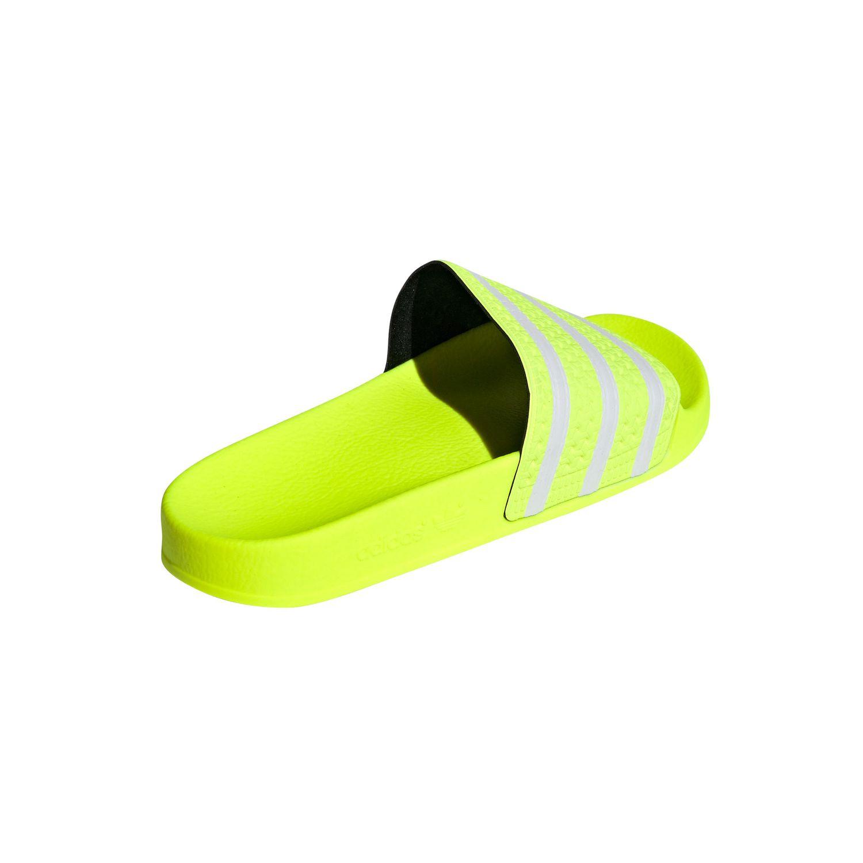 adidas Originals Adilette Badeschuhe solar yellow EE6182