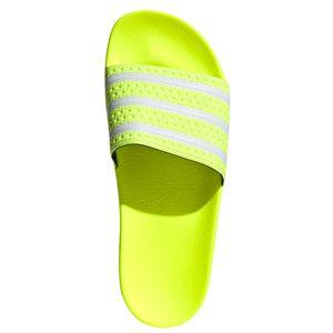 adidas Originals Adilette Badeschuhe solar yellow EE6182 – Bild 5