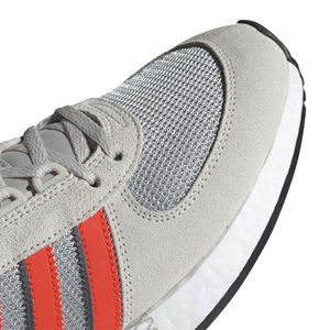 adidas Originals Marathon Tech Herren hellgrau orange EE4917 – Bild 8