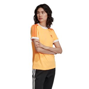 adidas Originals 3-Stripes Tee Damen T-Shirt Flash Orange ED7475 – Bild 5