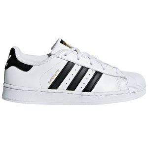 adidas Originals Superstar C Kinder Sneaker weiß schwarz BA8378 – Bild 1