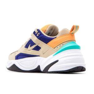 Nike W M2K Tekno Damen Sneaker beige blau orange AO3108 204 – Bild 3