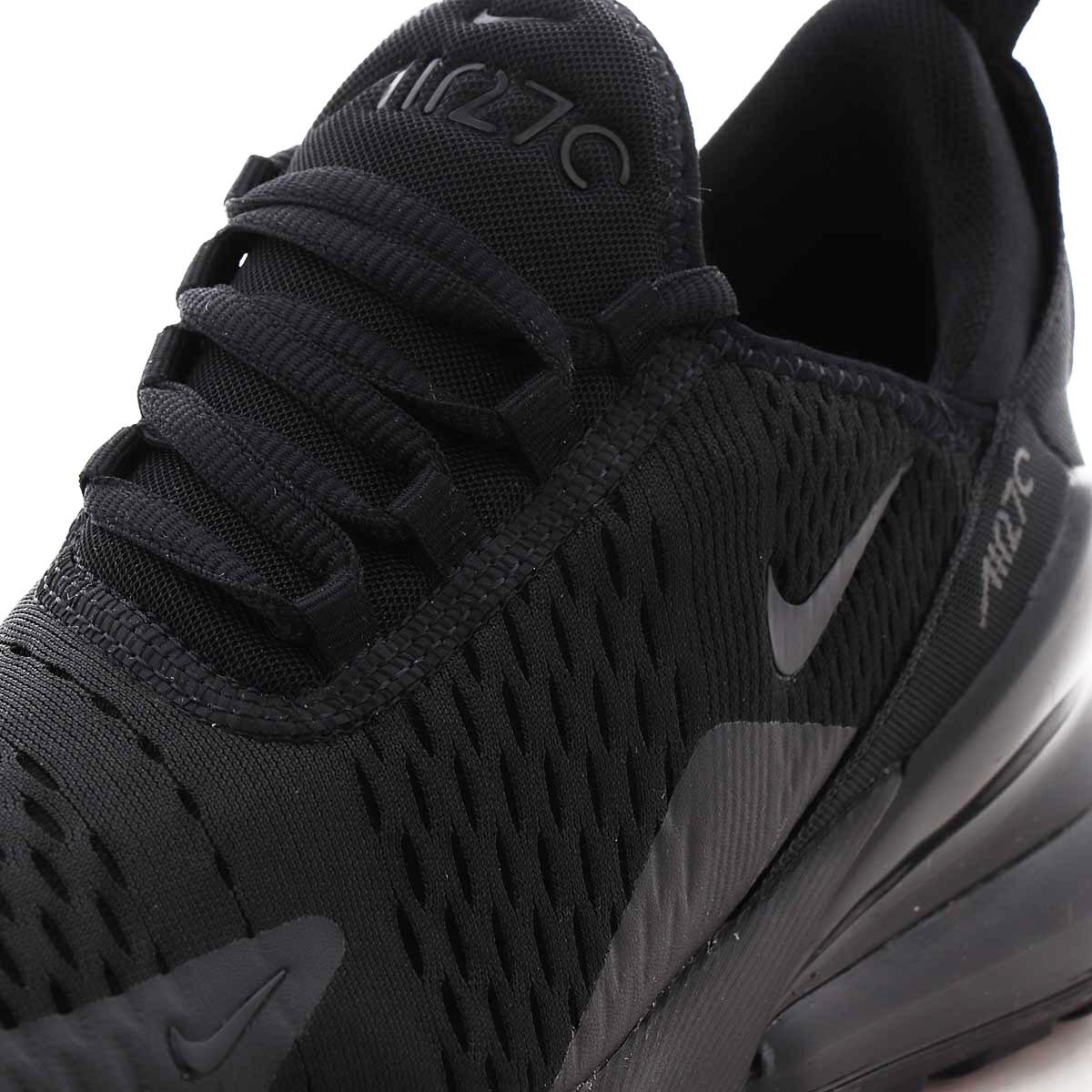 Nike Air Max 270 BG Kinder Sneaker schwarz BQ5776 001