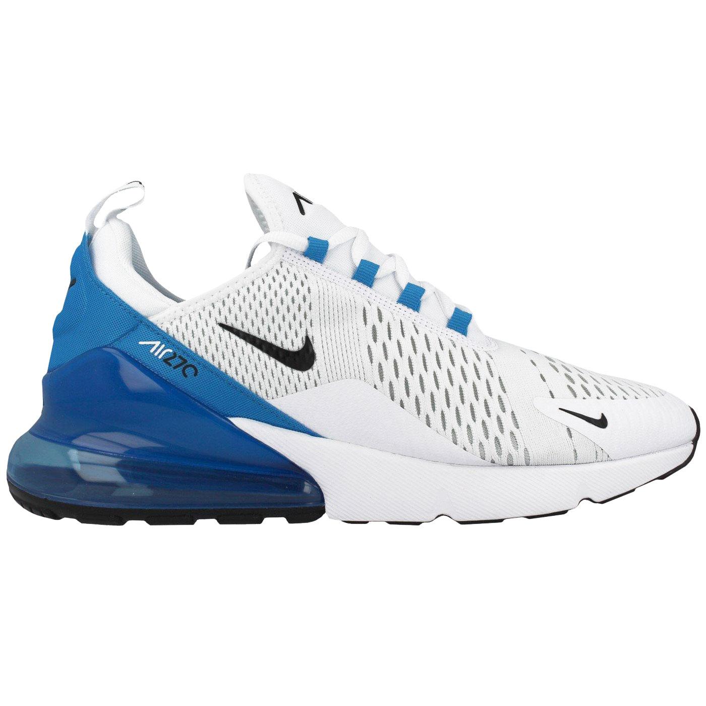Nike Air Max 270 Herren Sneaker weiß blau AH8050 110