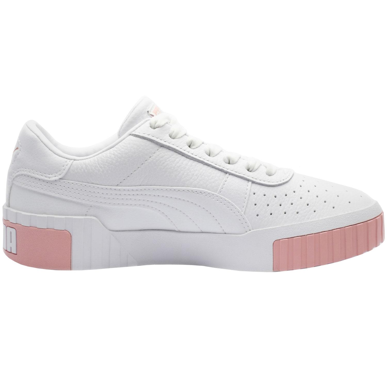 Puma Cali Wn´s Damen Sneaker low weiß rosa