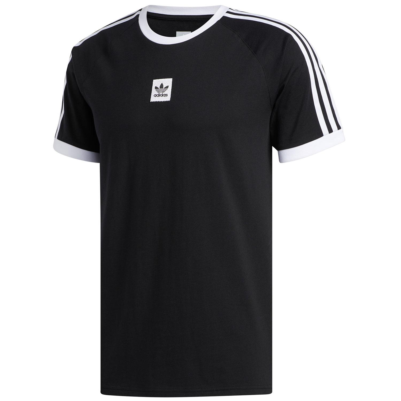adidas Originals Cali 2.0 Tee Herren T-Shirt schwarz weiß EC7375