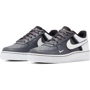Nike Air Force 1 LV8 2 GS Sneaker grau schwarz weiß CI1756 002 – Bild 3