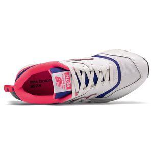 New Balance CM997HAJ Herren Sneaker low weiß pink – Bild 3