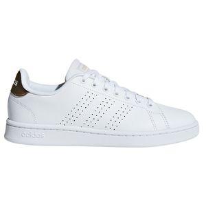 adidas neo Cloudfoam Advantage Damen Sneaker weiß bronze F36223 – Bild 1