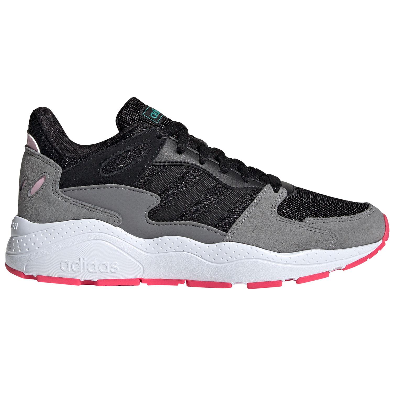 adidas neo CRAZYCHAOS Damen Sneaker schwarz grau weiß EF1060