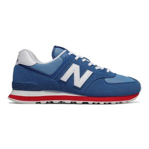 New Balance ML574ERG Herren Sneaker blau rot 738181-60 5 – Bild 1