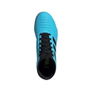 adidas Predator 19.3 FG J Kinder Fußballschuhe blau schwarz G25796 – Bild 3