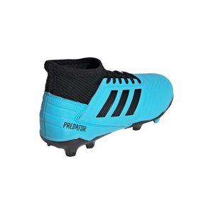 adidas Predator 19.3 FG J Kinder Fußballschuhe blau schwarz G25796 – Bild 6